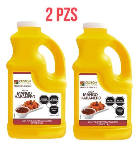 Duo Salsa Alitas Mango Habanero 4.3 Zafran Pack De 2 Pzs