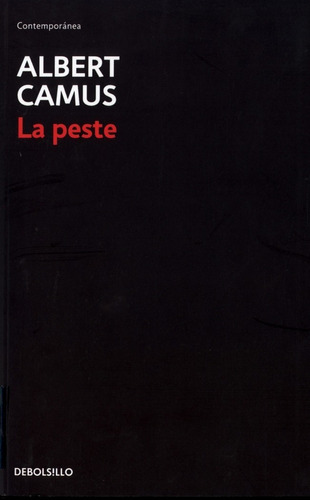 Libro La Peste - Camus Albert
