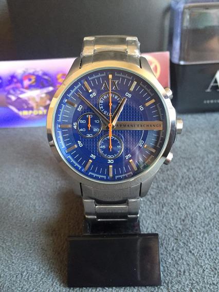Relogio Armani Exchange Ax2155 100% Original Completo Caixa
