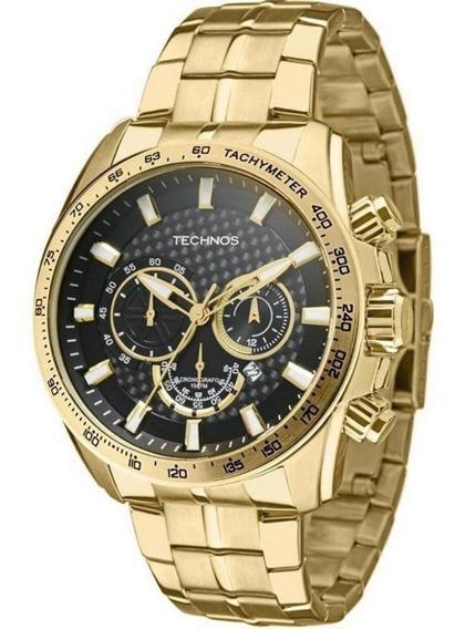 Relógio Technos Masculino Dourado Os20ip4c
