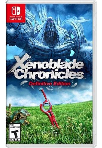 Imagen 1 de 1 de Xenoblade Chronicles Definitive Edition Nintendo Switch