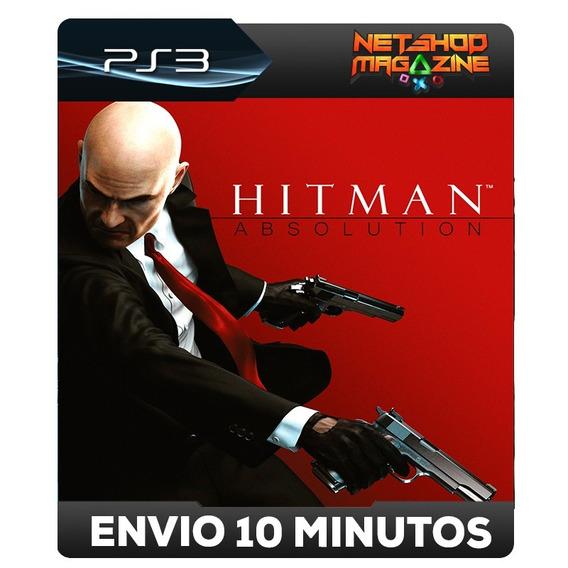 Hitman: Absolution Special Edition - Psn Ps3 - Envio Agora