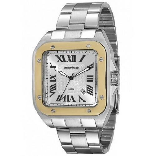 Relógio Unissex Mondaine Analógico Prateado 78624g0mvna1