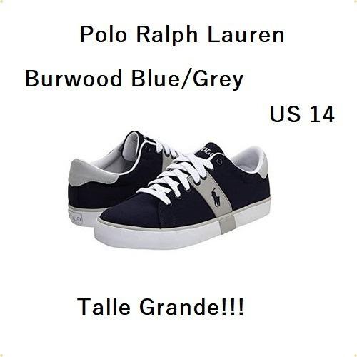 Zapatillas Polo Ralph Lauren Burwood Hombre Us14 T. Grande!