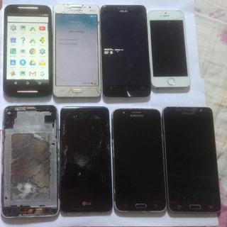 Lote Celular Smartphone Usados