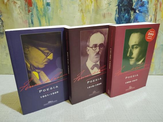 Poesia Fernando Pessoa Combo Companhia Das Letras