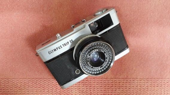 Câmera Olympus Trip 35 (leia A Descrição)