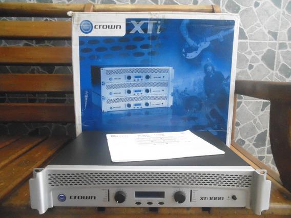 Power Cronw Xti 1000 + Caja Y Papeles