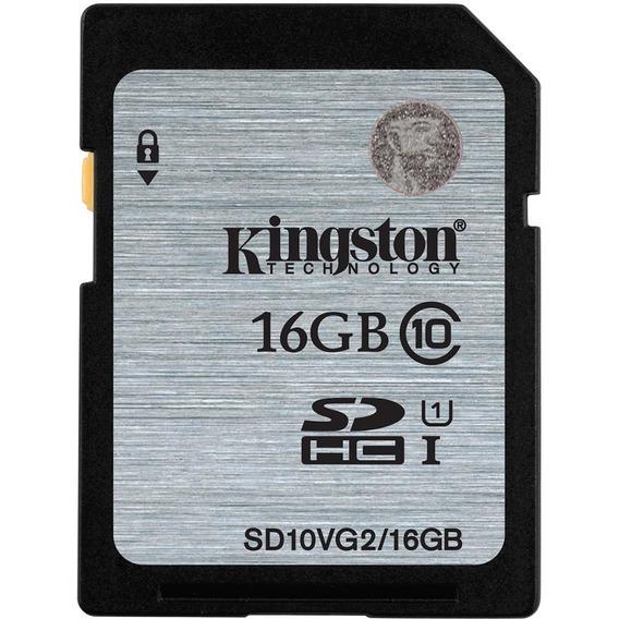 Cartão Kingston Sdhc Memória 16 Gb Full Hd Marca Consagrada