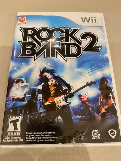 Rock Band 2 Original Completa P/ Wii