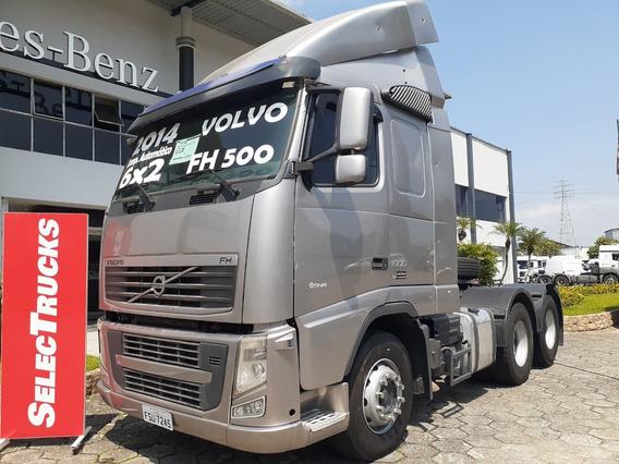 Volvo Fh 500 6x2 Ishift 2014 Selectrucks = Fh500