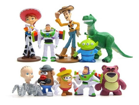 Bonecos Toy Story Sr Batata Wood Buzz Lightyear Kit 10 Unid