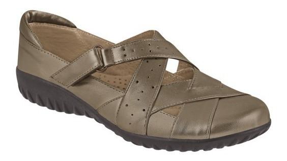 Zapato Bajo Comodo Piel P/dama Cklass 98526 Uy4