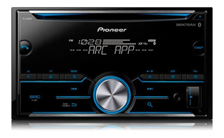 Reproductor De Carro Pioneer Con Bluetooth Fhs500bt 2 Din