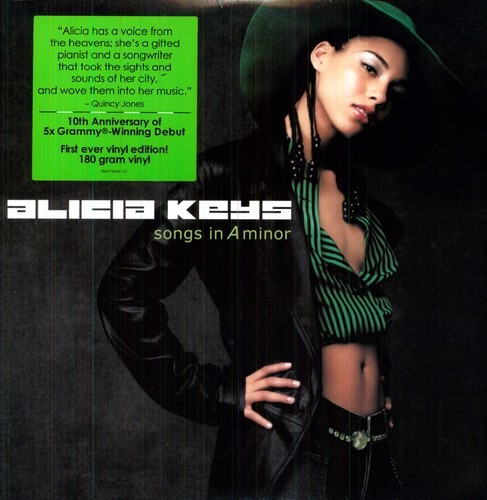 Alicia Keys Songs In A Minor 10th Ann. Dlx. Lp Us Imp