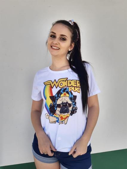 Camiseta Tshirt Pug Tamanhos Do P Ao Gg