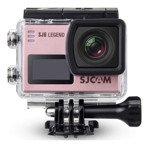 Câmera Filmadora Sjcam Sj6 Legend 4k Wifi 16mp Moto Carro