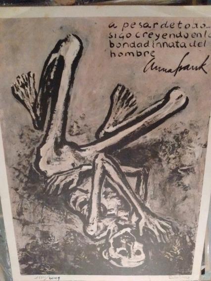 Ana Frank Ilustración De Bruzzone Lámina Numerada
