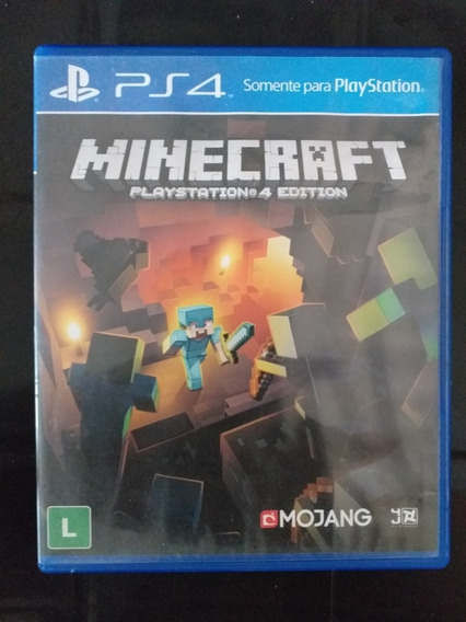 Minecraft Edição Do Ps4, Mídia Física