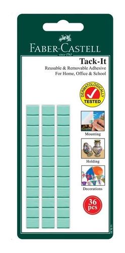 Adhesivo De Pared Tack-it Faber Castell 36 Unidades
