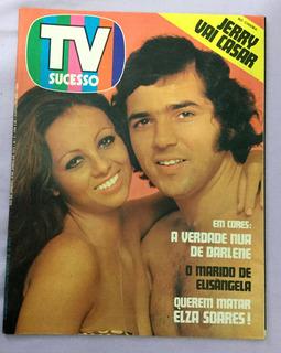 Revista Tv Sucesso - Nº 3 - Capa Com Jerry Adriani