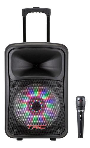Caixa De Som Bluetooth Amplificada Trc 536 Usb 480w