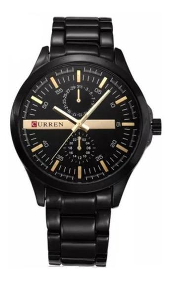 Relógio Curren 8128 Masculino Promoção