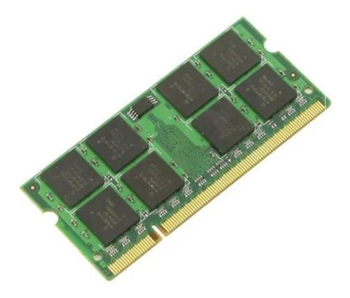 Imagen 1 de 2 de Memoria Ram 2 Gb Sodimm Ddr2 800 Mhz - Vgoldcl