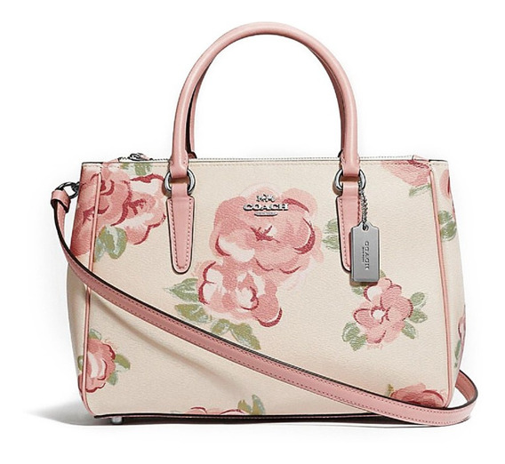 Coach- Bolso Surrey Carryall With Jumbo Floral Print Satchel