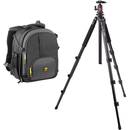 Imagen 1 de 4 de Ruggard Thunderhead 35 Dslr/laptop Backpack And TriPod B&h K