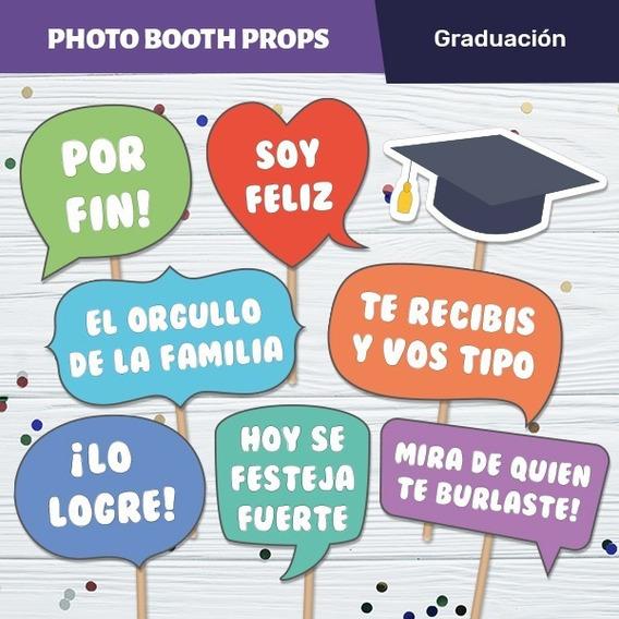 Photo Props Graduacion Souvenirs Cotillón Y Fiestas En