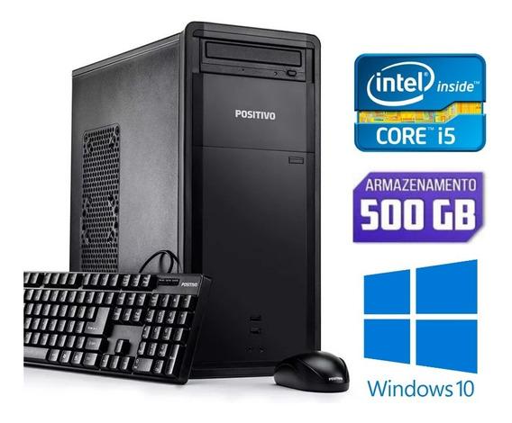 Desktop Positivo Intel Core I5 Hd500 Para Estudos