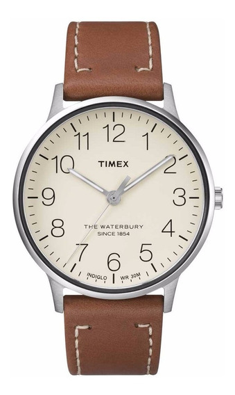 Timex Waterbury Mens Leather Tw2r25600 ¨¨¨¨¨¨¨¨¨¨¨¨¨dcmstore
