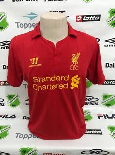 Camisa Oficial Liverpool-ing Home Tamanho M Warrior
