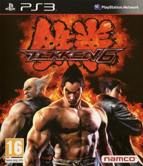 Jogo Tekken 6 Playstation 3 Ps3 Luta Original Mídia Física