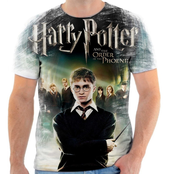 Camisa Camiseta Harry Potter Filme 4