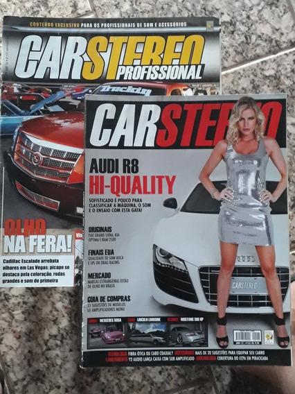 Revista Car Stereo + Revista Car Stereo Profissional