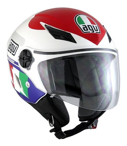 Capacete Agv Blade Heart Aberto Valentino Rossi Original General Motos Oficial