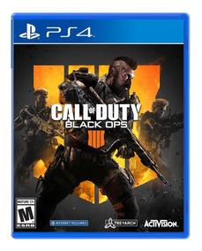 Jogo Call Of Duty Black Ops 4 Bo4 Ps4 Mídia Física