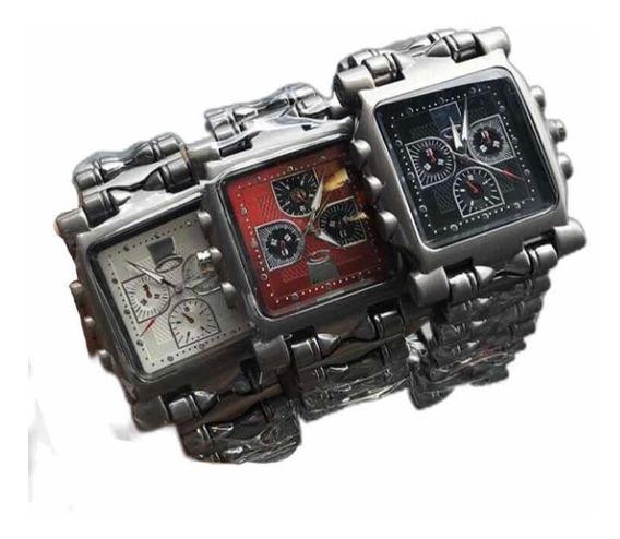 Relógio Masculino Oakleeyy Foto Real Frete Grátis