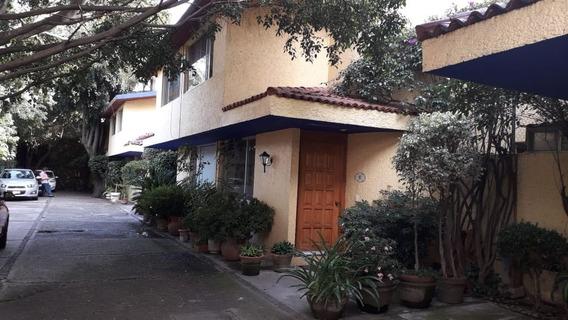 Casa En Condominio Cerca Del Centro De Tlalpan