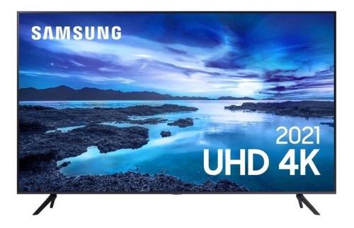 Imagem 1 de 1 de Smart Tv Led Uhd 4k Samsung 43au7700 43'' Bivolt Alexa