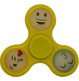 Spinner Emoticon Amarillo Juguete
