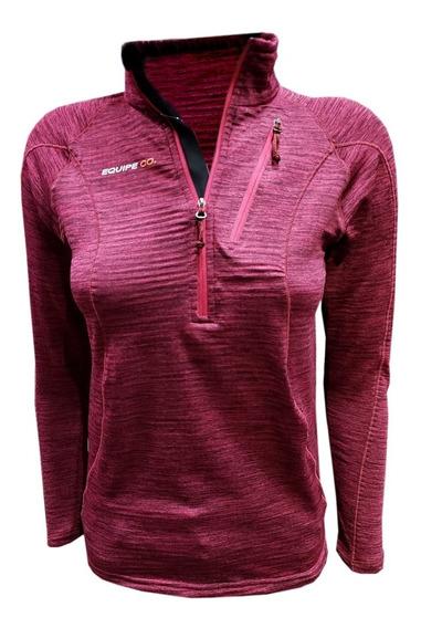 Buzo Polar Termico Dama Runnig Trekking Micropolar Mujer Respirable Running Deporte Gym Abrigo Invierno Quilmes Oferta
