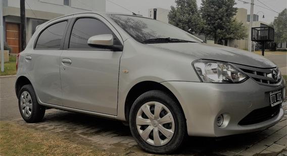 Toyota Etios 1.5 5 Ptas Xs (vendido Hace Unos Días)