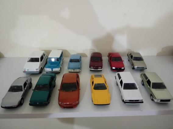 Coleção Carros Nacionais Com 12 Carros