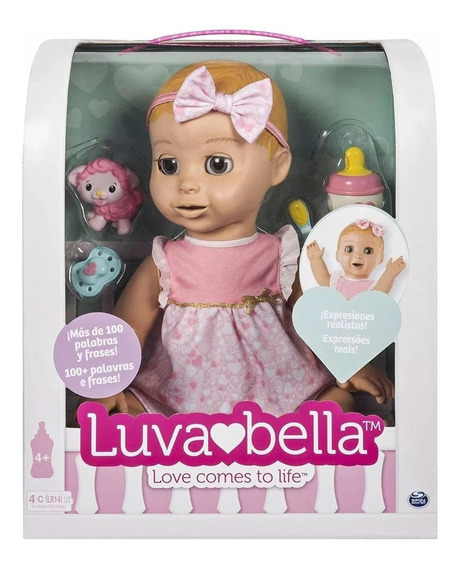 Luvabella Baby Ojos Cafes