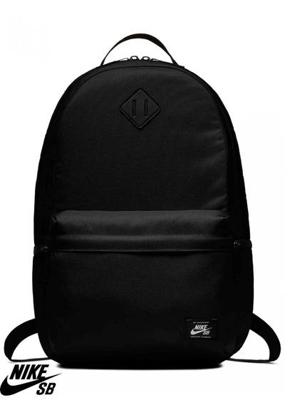 Mochila Nike Sb Icon Backpack Negra Camo 26 Litros