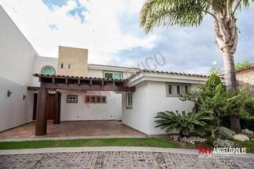 Se Renta Casa En Lomas De Angelópolis, Cluster 333.