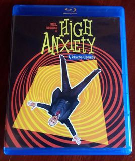 Blu Ray Original Nuevo High Anxiety - Las Angustias Del Dr.